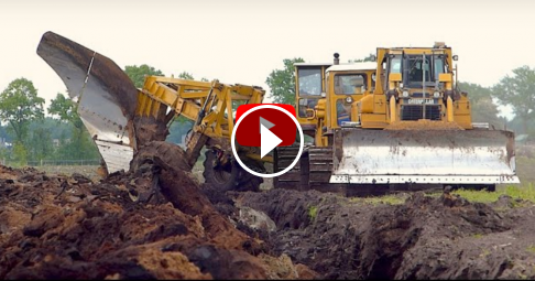 World's biggest plow | Deep ploughing | Caterpillar D8H /E /D6R 650HP