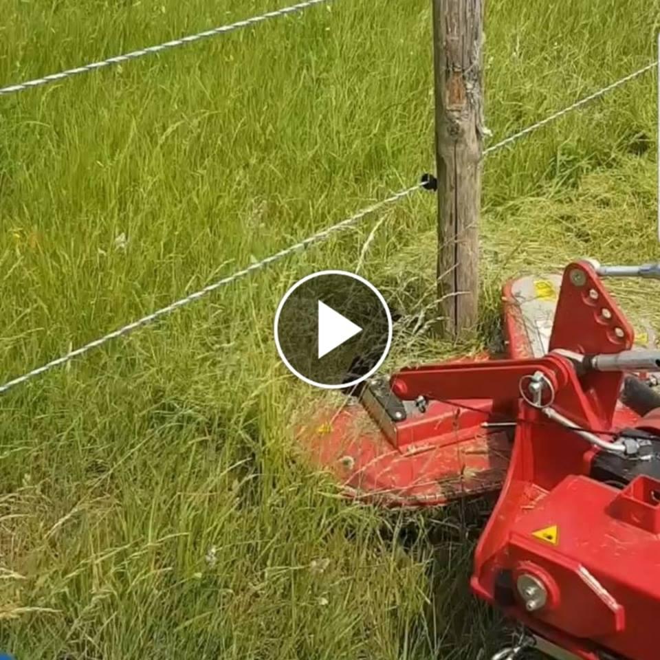 Rastermaster Mower To Cut Around Poles